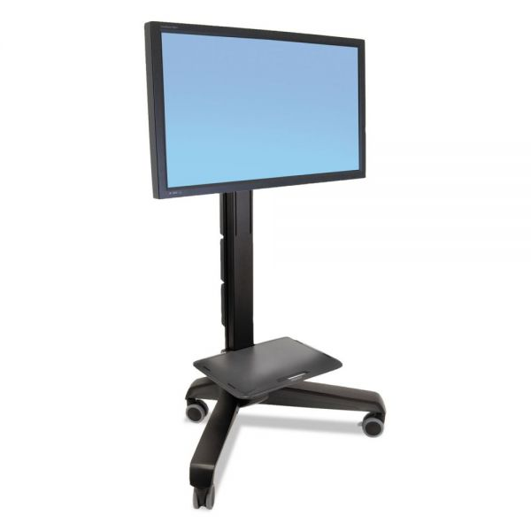 Ergotron Neo-Flex Mobile MediaCenter, Very Heavy-Duty, 29 1/2 x 42 x 64 to 67 1/4, Black