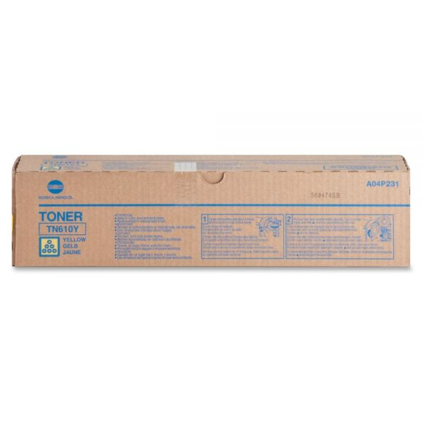 Konica Minolta TN-610Y Original Toner Cartridge - Yellow