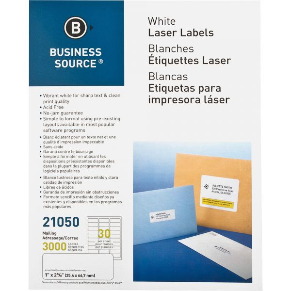 Business Source Address Labels