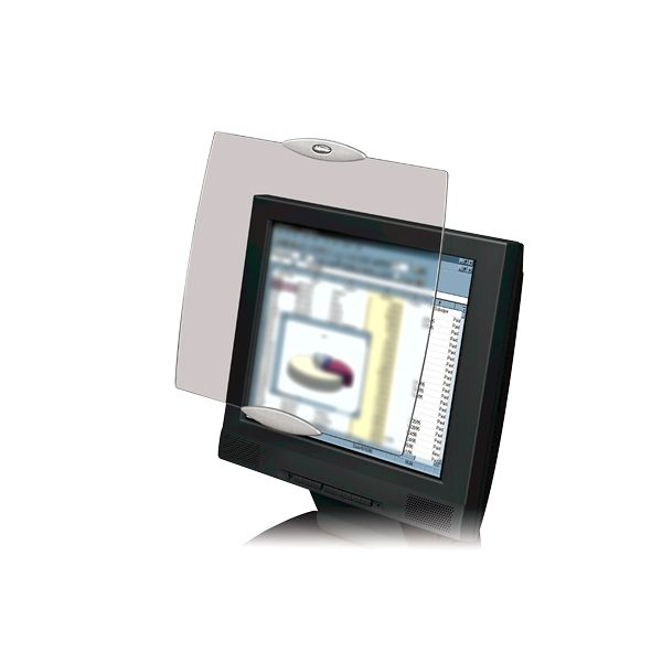 """Fellowes LCD Privacy Screen - 19"""" Clear"""