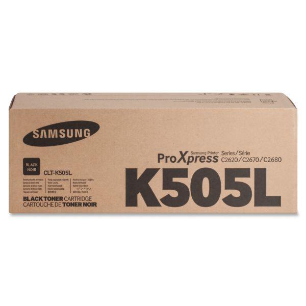 Samsung CLTK505L Black Toner Cartridge