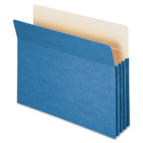 Smead 73225 Blue Colored Expanding File Pocket