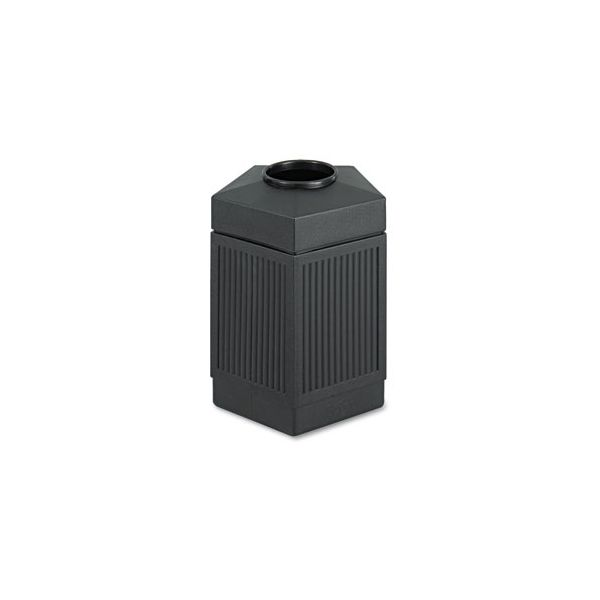 Safco Trophy Collection Indoor/Outdoor 45 Gallon Trash Can