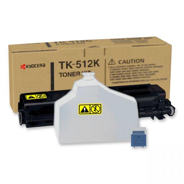 Kyocera TK-512K Black Toner Cartridge