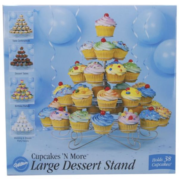 Cupcakes 'N More Large Dessert Stand