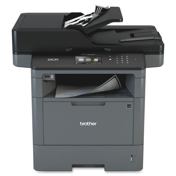 Brother DCP-L5650DN Laser Multifunction Printer - Monochrome - Duplex