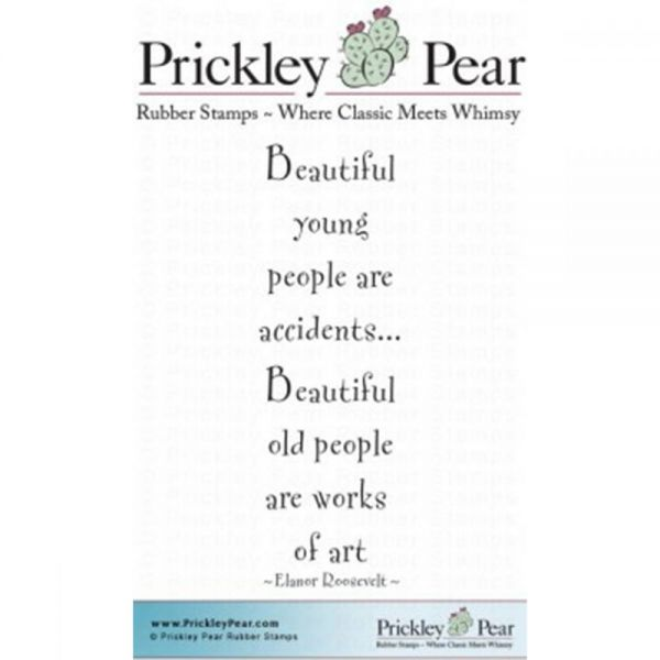 "Prickley Pear Cling Stamps 2.75""x1"""