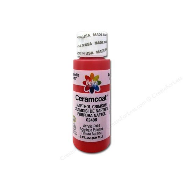 Ceramcoat Naphthol Crimson Acrylic Paint
