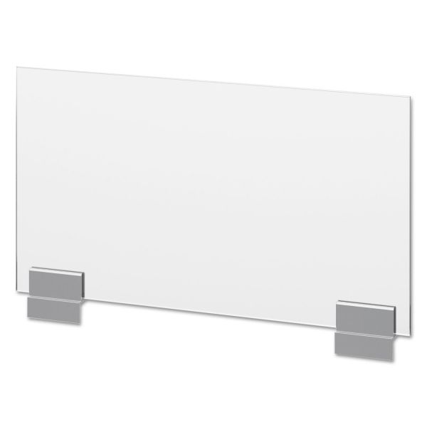 HON Voi Frosted Glass Side Privacy Screen, 24w x 12h