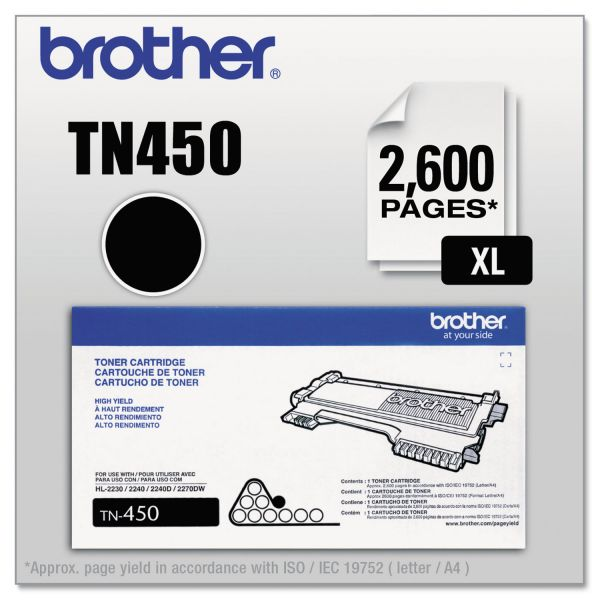 Brother TN-450 High Yield Toner Cartridge