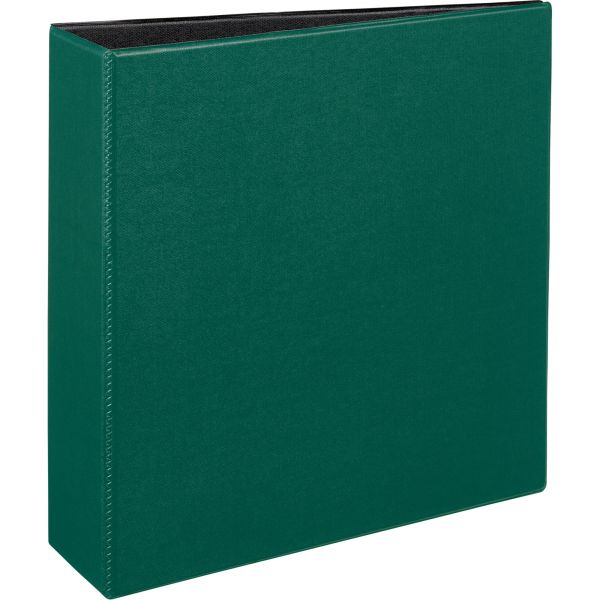 "Avery Durable 3-Ring Binder, 3"" Capacity, Slant Ring, Green"