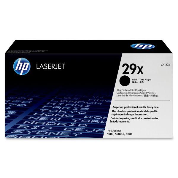 HP 29X Black High Yield Toner Cartridge (C4129X)