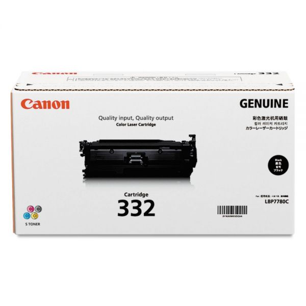 Canon 332 Black Toner Cartridge (6264B012)