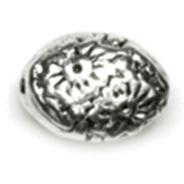 Precious Accents Silver Plated Metal Beads & Findings