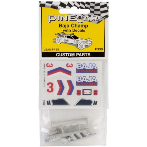 Pine Car Derby Custom Parts