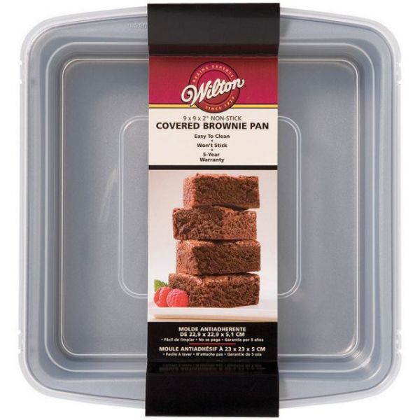 Wilton Recipe Right Brownie Pan With Cover