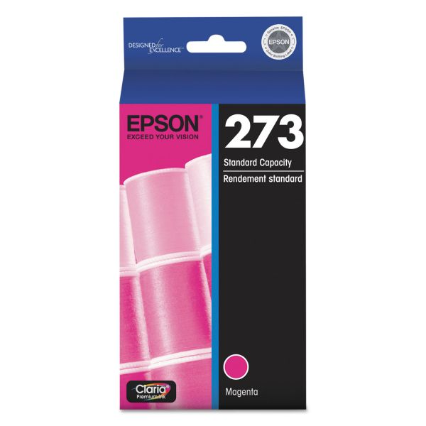 Epson 273 Claria Magenta Ink Cartridge (T273320)