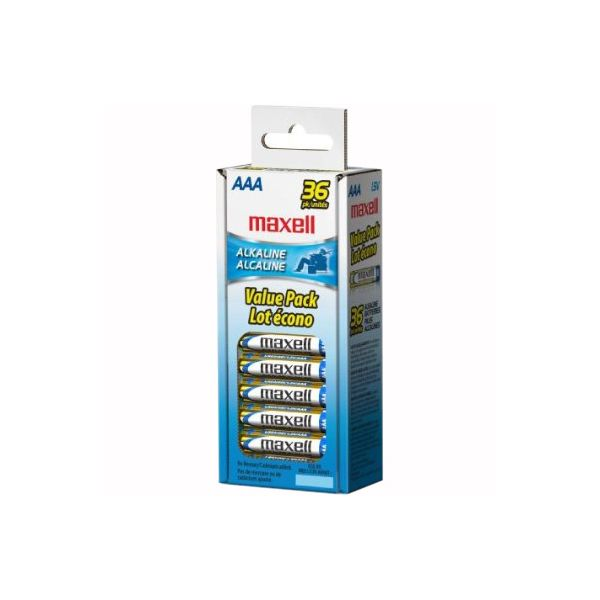 Maxell Alkaline General Purpose AAA Batteries
