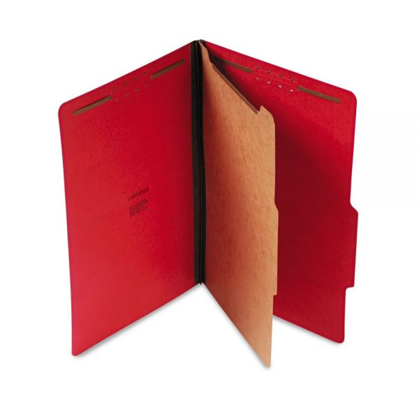 Universal 1-Divider Pressboard Classification Folders