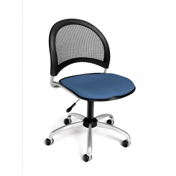 OFM Moon Series Armless Swivel Chair