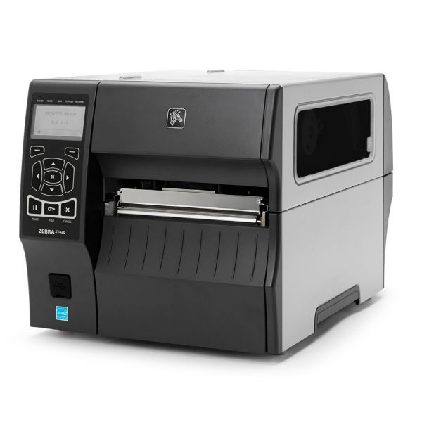 Zebra ZT420 Direct Thermal/Thermal Transfer Printer - Monochrome - Desktop - Label Print