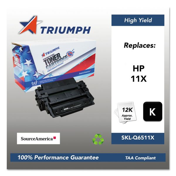 SKILCRAFT Remanufactured HP 11X High Yield Toner Cartridge
