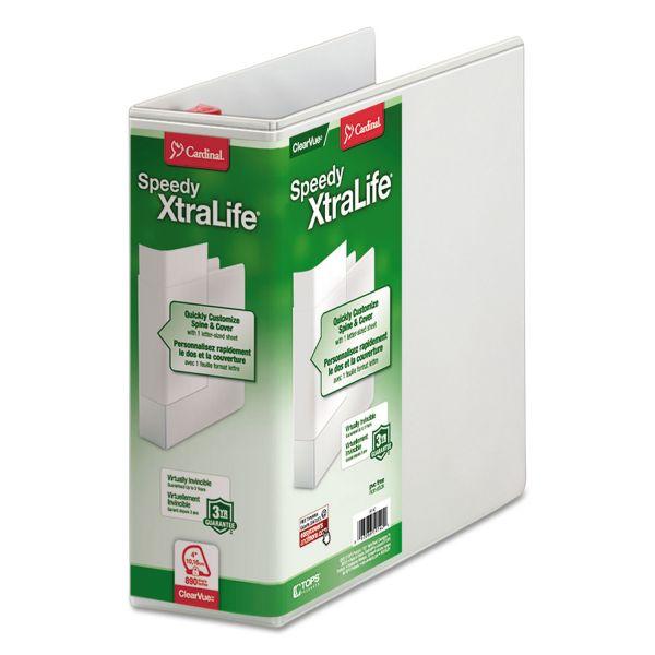 "Cardinal Speedy XtraLife 4"" 3-Ring View Binder"