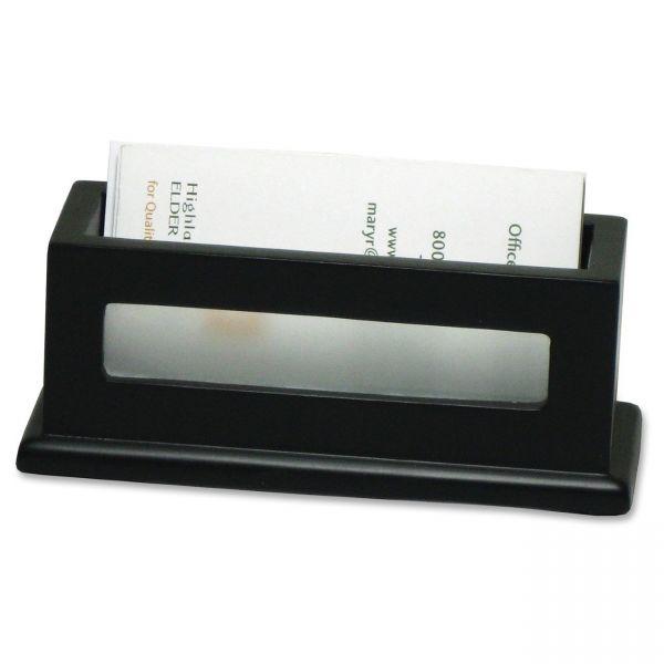 Victor 1156-5 Midnight Black Business Card Holder