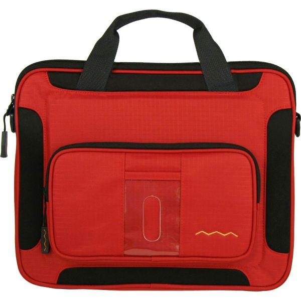 """Higher Ground Flak Jacket Plus Carrying Case (Sleeve) for 12"""" Accessories, Notebook - Red"""