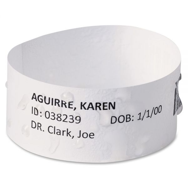 Avery EasyBand Medical Wristbands with Chart Labels