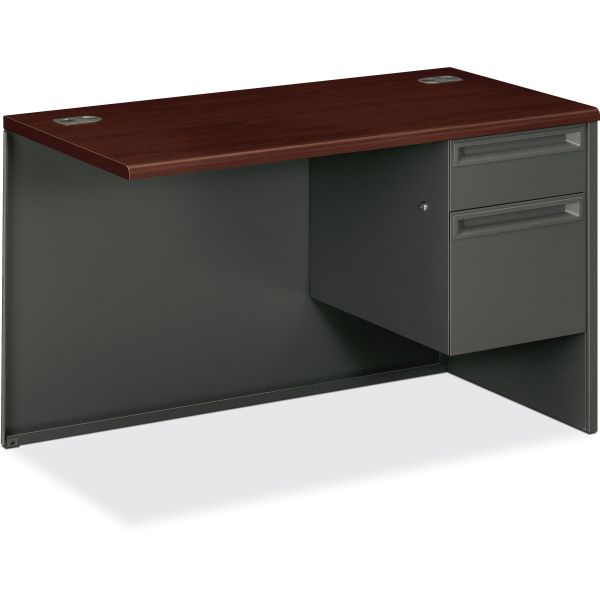 "HON 38000 Series Right Return | 1 Box / 1 File Drawer | 48""W"