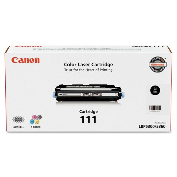 Canon 111 Black Toner Cartridge (1660B001)