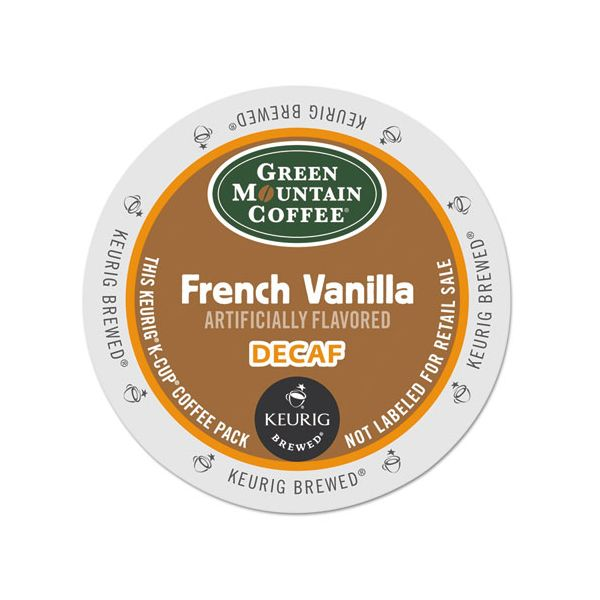 Green Mountain Coffee French Vanilla Decaf Coffee K-Cups