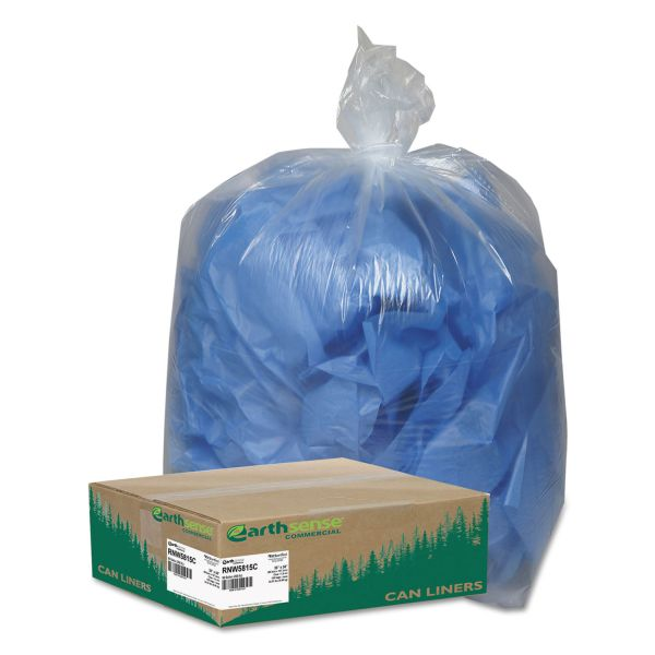 Earthsense Recycled 60 Gallon Trash Bags