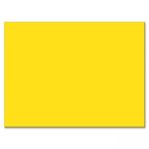 Tru-Ray Sulphite Yellow Construction Paper