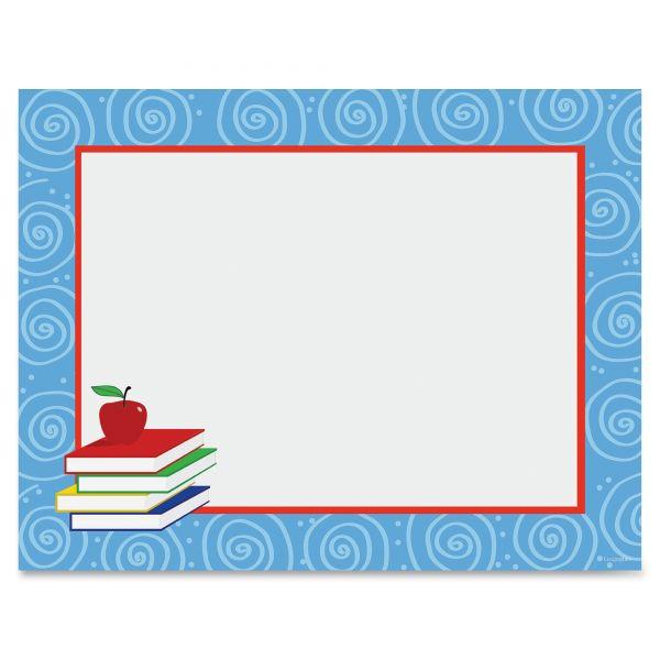 Geographics Book Stack School Certificate Paper