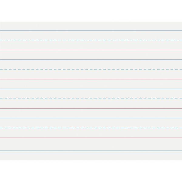 Pacon Multi-Program Handwriting Paper, 16 lbs., 8 x 10-1/2, White, 500 Sheets/Pack