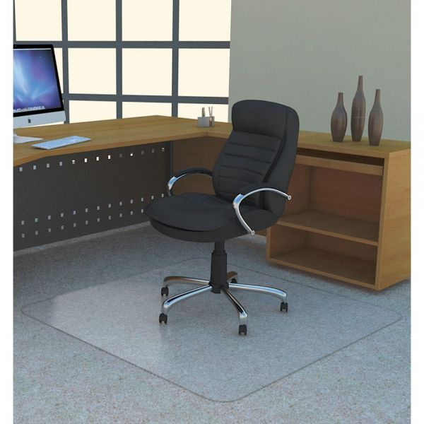 Lorell Medium/Low Pile Studded Chair Mat