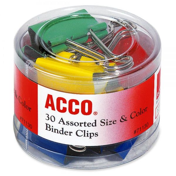 Acco Colored Binder Clips
