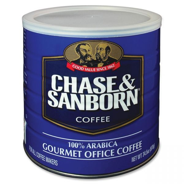 Chase & Sanborn Gourmet Ground Coffee (2.16 lbs)