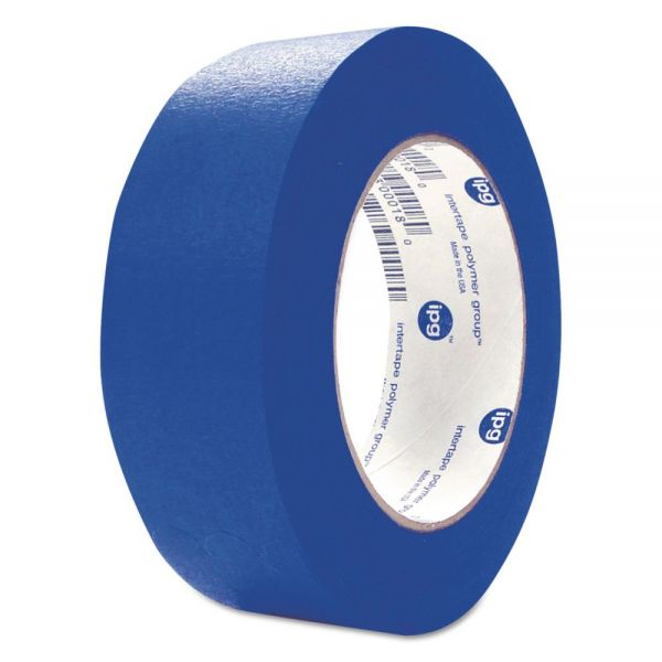 "ipg UV Resistant Paper Masking Tape, 1.88"" x 60 Yards, Blue, 24/Carton"