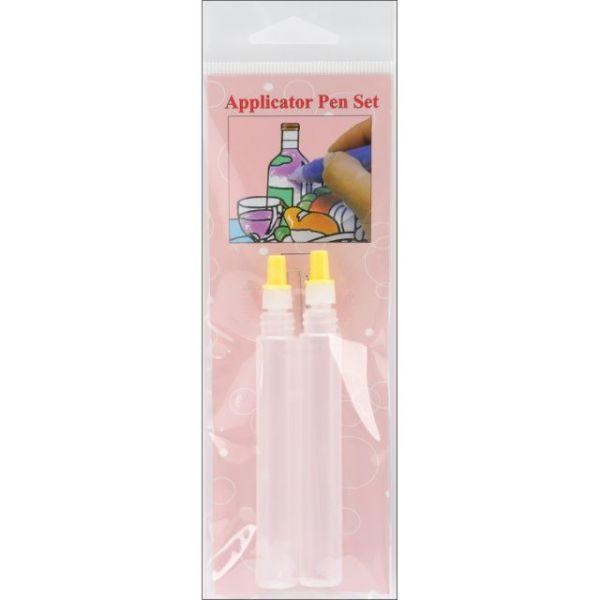 3D Crystal Lacquer Applicator Pens - Empty 2/Pkg