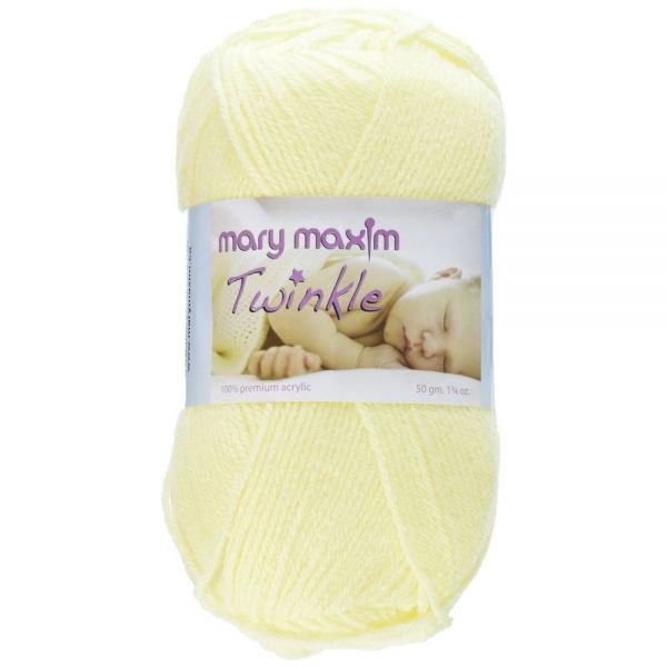 Mary Maxim Twinkle Yarn - Yellow