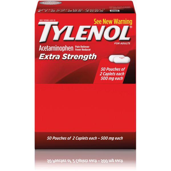 Tylenol Extra-Strength Caplets