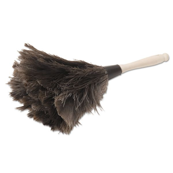 "Boardwalk Professional Ostrich Feather Duster, 4"" Handle"