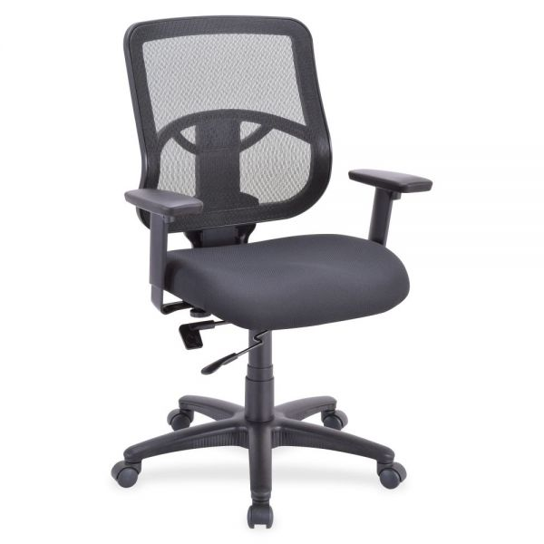 Lorell Managerial Mid-Back Office Chair