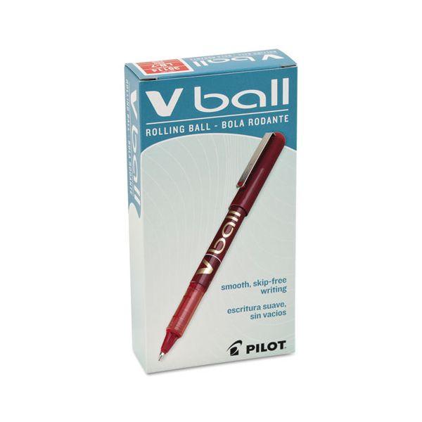 Pilot VBall Liquid Ink Rollerball Pens