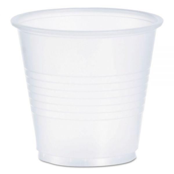 Dart Conex Galaxy Polystyrene Plastic Cold Cups, 3 1/2 oz, 100/Pack