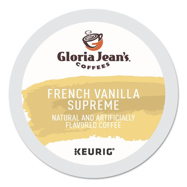 Gloria Jean's French Vanilla Supreme Coffee K-Cups