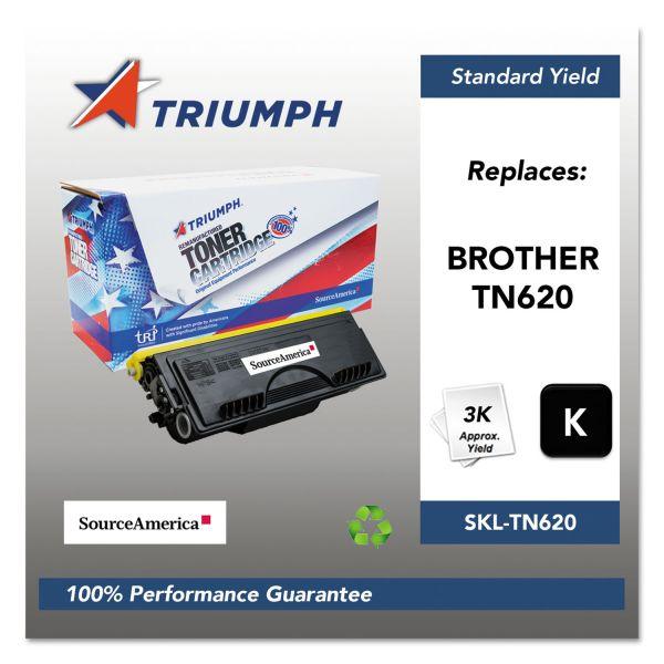 SKILCRAFT Remanufactured Brother TN620 Black Toner Cartridge
